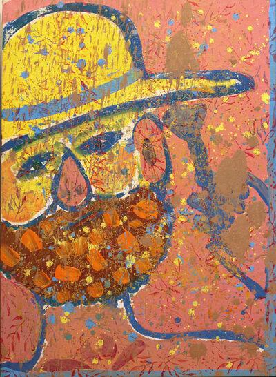 Isaiah Zagar, 'Yellow Bowler Hat Isaiah ', 1984
