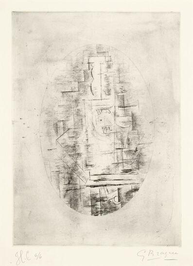 Georges Braque, 'Pal (Bouteille de Bass et verre sur une table)', 1911