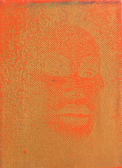 Peter Mayer, 'Jocelyn Wildenstein (Orange/Gold)', circa 1990