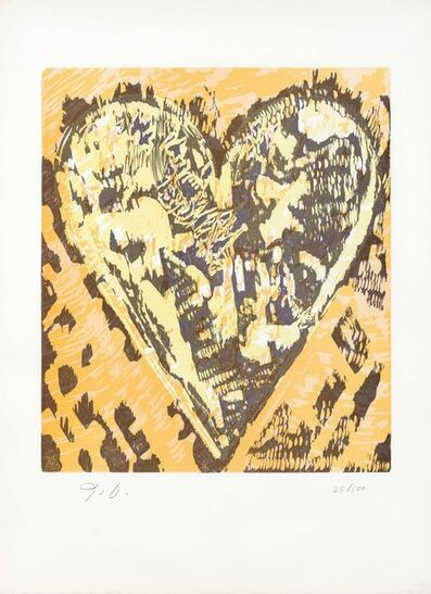 Jim Dine, 'Heart For Film Forum (Cullen 60)', 1993