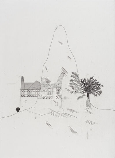David Hockney, 'The Glass Mountain', 1969
