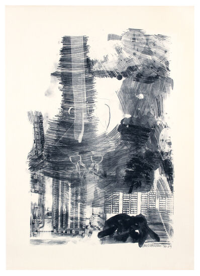 Robert Rauschenberg, 'Earth Tie, Stoned Moon Series', 1969