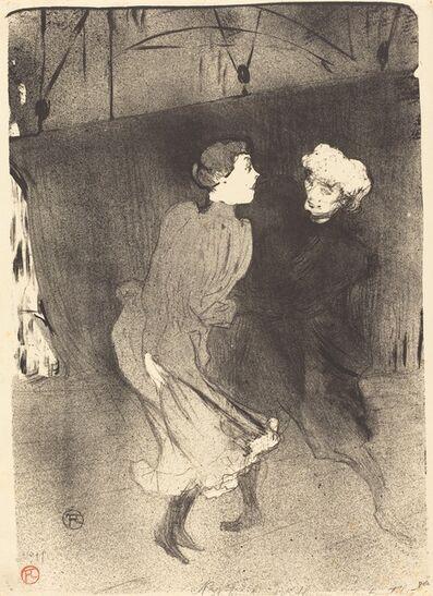Henri de Toulouse-Lautrec, 'Dress Rehearsal at the Folies-Bergere (Répétition générale aux Folies-Bergère)', 1893