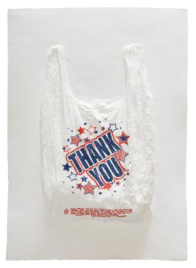 Analia Saban, 'THANK YOU Plastic Bag', 2016