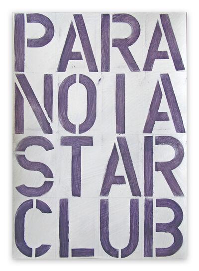 Daniel Göttin, 'BP13, PARANOIASTARCLUB, 2019 (Abstract painting)', 2019
