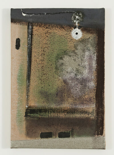 Merlin James, 'Lamp', 2001
