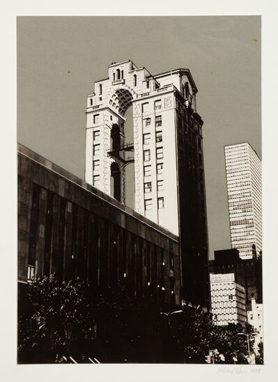 Richard Haas, 'Proposal For 700-720 N. Michigan Ave.', 1977