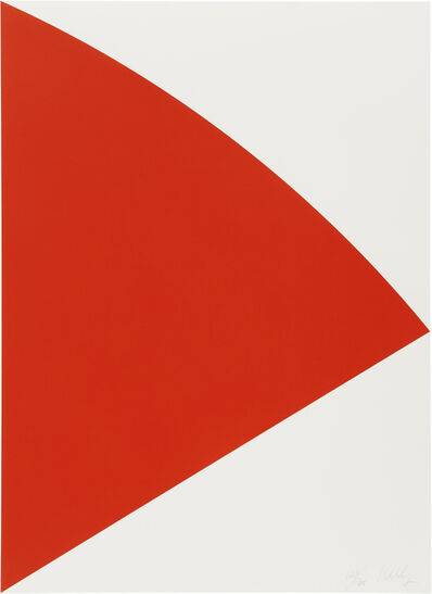 Ellsworth Kelly, 'Red Curve', 1993-95