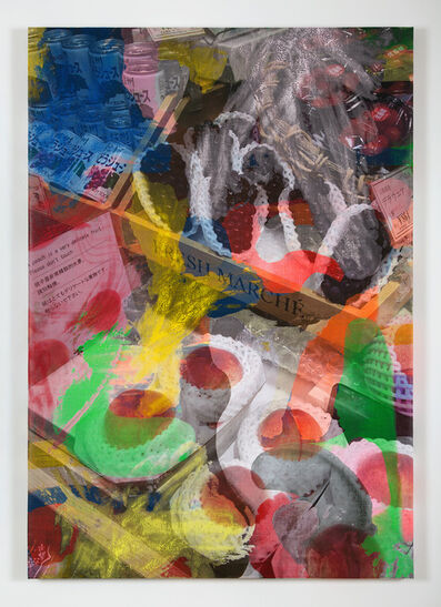 "Evan Nesbit, '""Manifold Painting (Perishable Gestures)"" ', 2018"