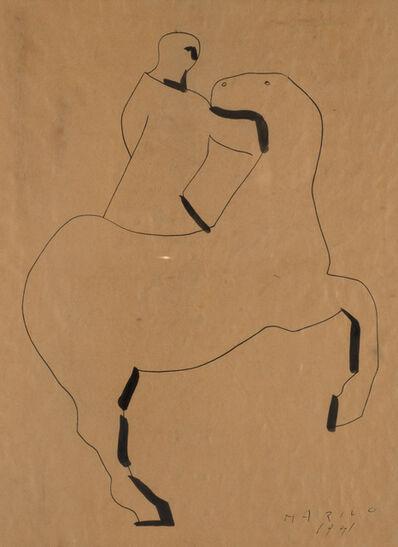 Marino Marini, 'Cavallo e cavaliere', 1941