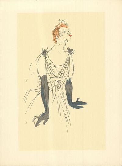 Henri de Toulouse-Lautrec, 'Portrait d'Yvette Guilbert', 1960-1970