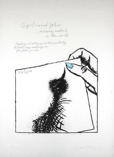 Raymond Pettibon, 'A Girl named Yoko', 1992