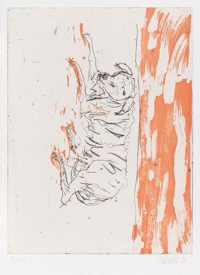 """Georg Baselitz, 'Igor, from """"Schlafende Hunde""""', 1998-1999"""