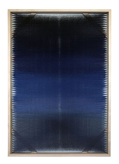 Rachel Mica Weiss, 'Woven Screen, Night Gradient III', 2019