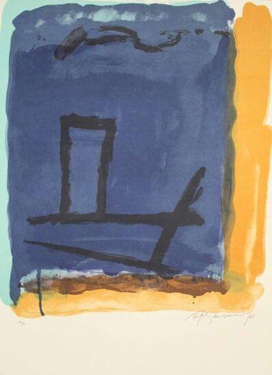 Albert Ràfols-Casamada, 'A.L. (avant la lettre) Barcelona 88', 1988