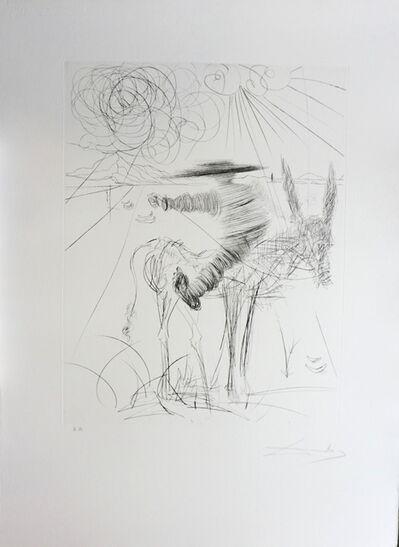 Salvador Dalí, 'Don Quixote & Sancho Panza Sancho Panza', 1971