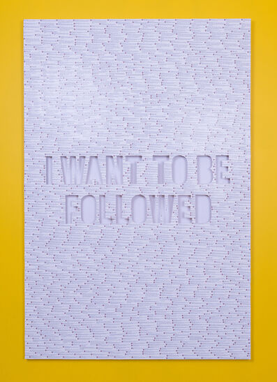 Jonathan Rosen, 'Followed', 2017