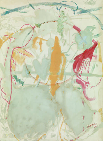 Helen Frankenthaler, 'Seven Types of Ambiguity', 1957