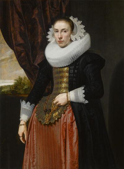 Pieter Claesz Soutman, 'Portrait of a Lady', 1626
