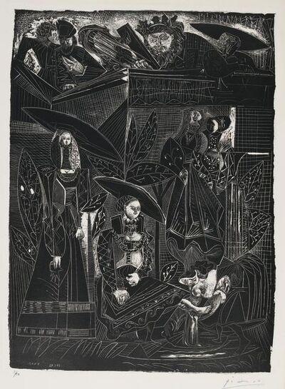 Pablo Picasso, 'David and Bathsheba, after Lucas Cranach (David et Bethsabée, d'après Lucas Cranach)', 1949