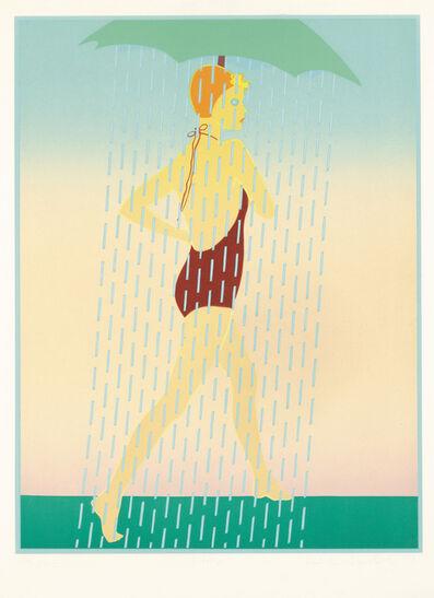 """Kiki Kogelnik, '""""Rainy""""', 1977"""