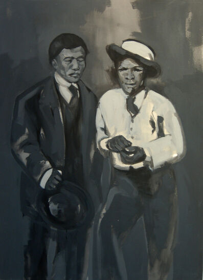 Raél Jero Salley, 'Two Men', 2013