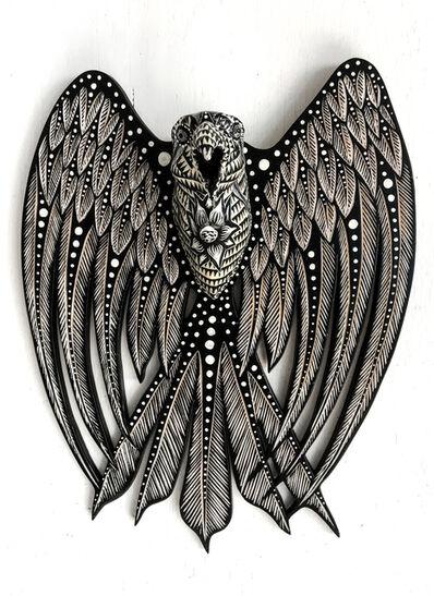 Dennis McNett, 'Large Raven VII', 2017