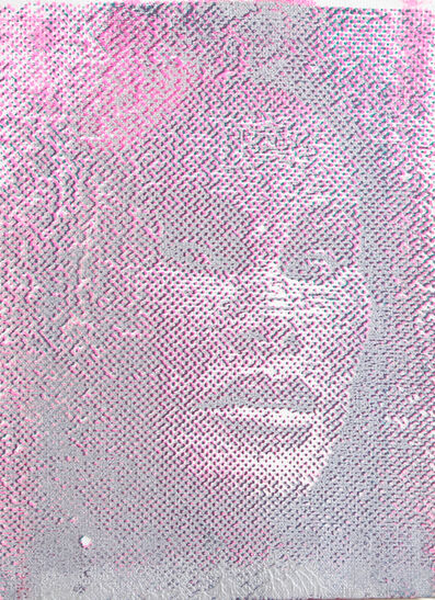 Peter Mayer, 'Jocelyn Wildenstein (Pink/Grey)', circa 1990
