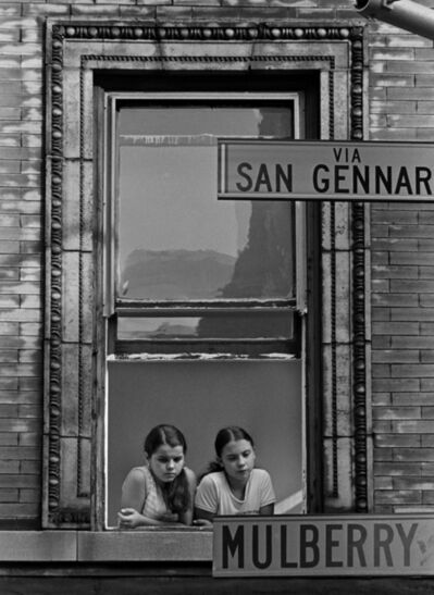 Masao Gozu, 'Mulberry Street ( Little Italy), 5pm August 21, 1978', 1978