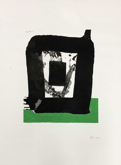 Robert Motherwell, 'Basque Suite plate 8 (Belknap 57)', 1970-71