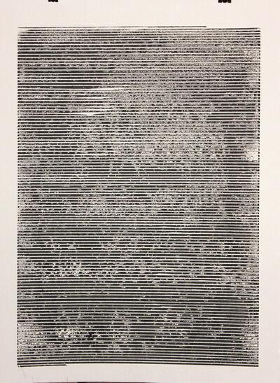 Bashar Alhroub, 'Visual Language 2', 2014