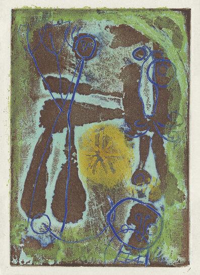 Joan Miró, 'Anti-Platon', 1951-62