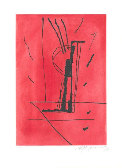 Albert Ràfols-Casamada, 'Signe i color 6', 1991