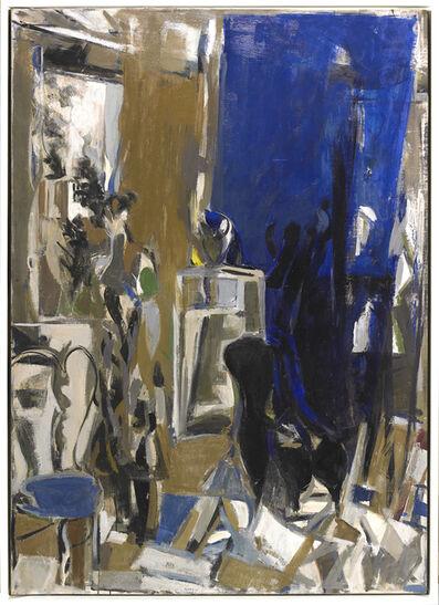 Janice Biala, 'Blue Interior', 1956