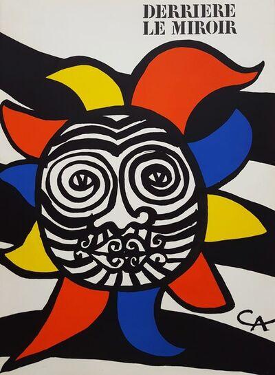 Alexander Calder, 'Derrière le Miroir No. 156 (front cover)', 1966