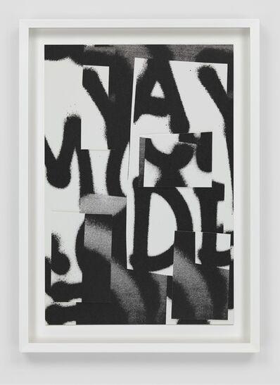 Adam Pendleton, 'Untitled', 2016