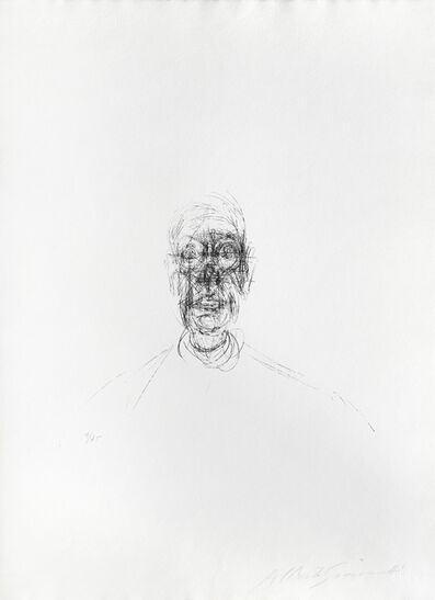 Alberto Giacometti, 'Tête d'homme III ', 1964
