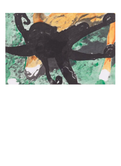 John Baldessari, 'Deer and Octopus', 1986