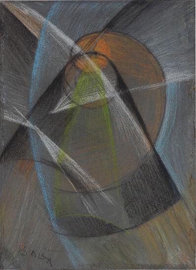 Giacomo Balla, 'Mercurio che passa davanti al sole (Mercury passing in front of the sun)', 1914