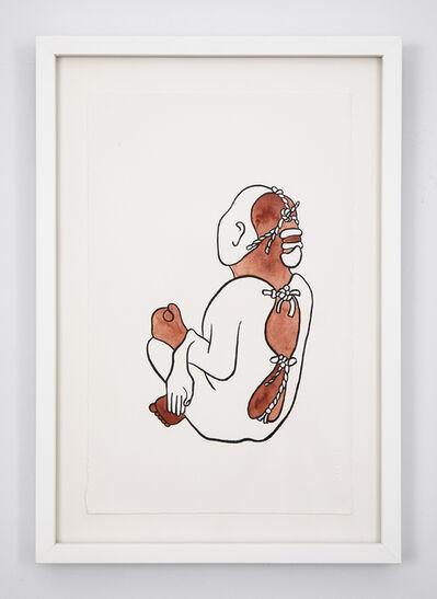 Mariana Castillo Deball, 'Xipe Totec, Museum für Völkerkunde, Basel I', 2018