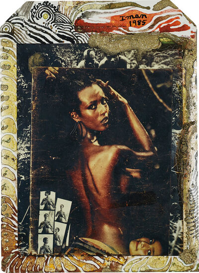 Peter Beard, 'Iman at Hoggers, Kenya', 1985