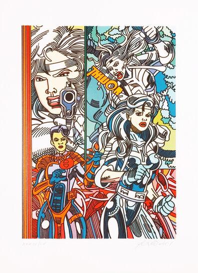 Erró, 'Silver Sabler', 2001
