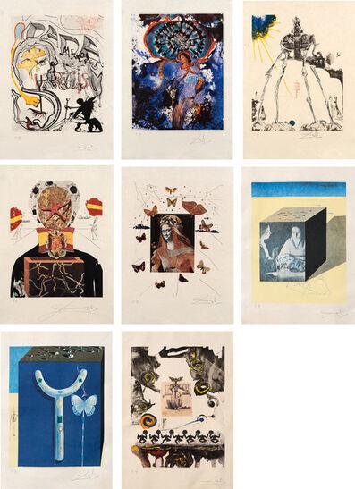 Salvador Dalí, 'Memories of Surrealism: eight plates (M. & L. 494; 496-498; 500; 503-505)', 1971