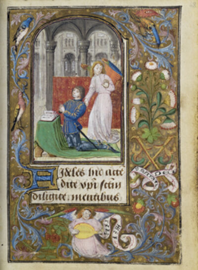 Lievan van Lathem, 'Charles the Bold Presented by an Angel', 1471