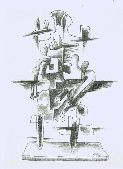 Ossip Zadkine, 'Le merveilleux radeau'