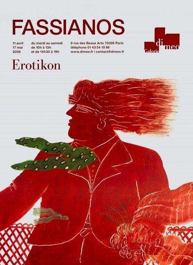 Alekos Fassianos, 'Fassianos, Erotikon - Exhibition Galerie Di Meo - 2008', 2008