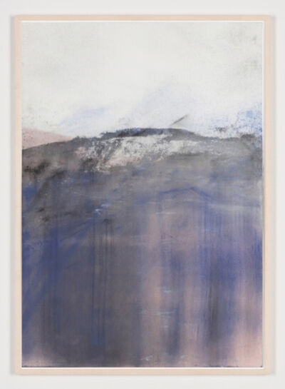 Carla Chan, 'Clouded White – Blue Purple', 2018