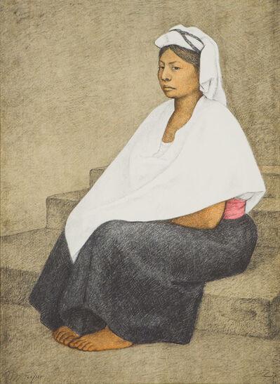 Francisco Zúñiga, 'Doncella (Maiden) (B. 96)', 1984