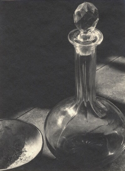 Ansel Adams, 'Untitled [Glass, Decanter and Bowl]', 1929