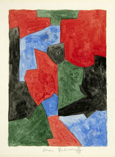 Serge Poliakoff, 'Composition abstraite', 1963